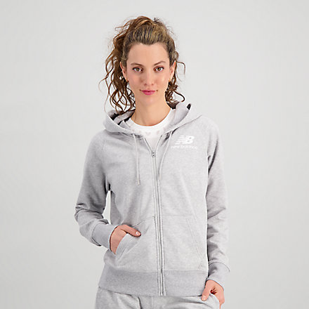 New Balance Essentials FZ Hoodie, WJ03530AG image number null