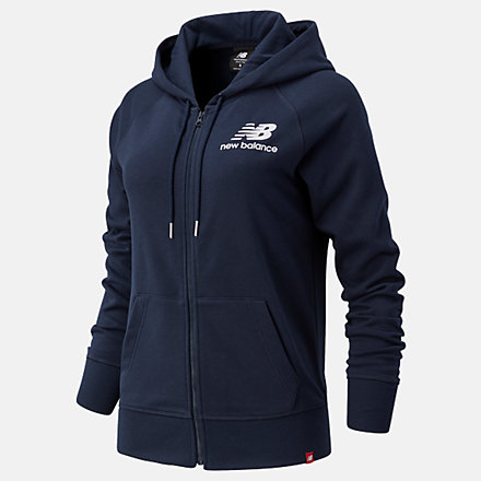 New Balance Essentials FZ Hoodie, WJ03530ECL image number null
