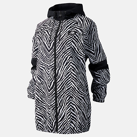 New Balance NB Athletics Animal Print Mix Jacket, WJ03531BKU image number null