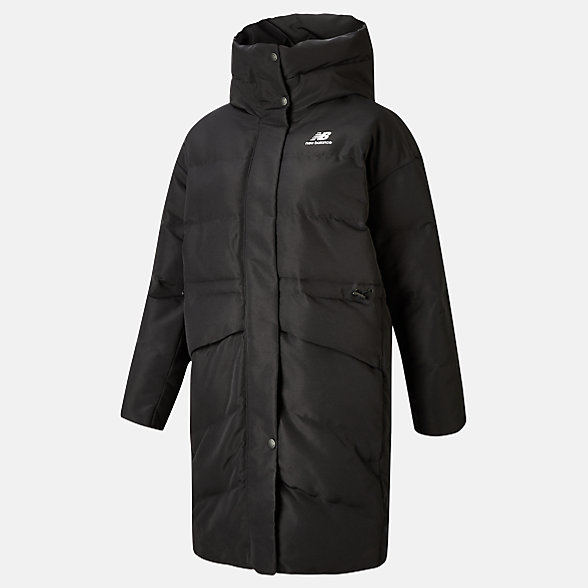NB NB Athletics Terrain Long Synthetic Jacket, WJ03534BK