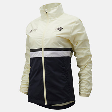 NB London Marathon Jacket, WJ11200DCYW image number null