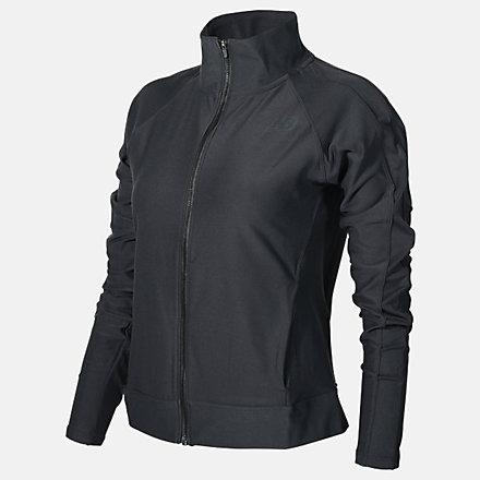 New Balance Sport Space Dye Jacket, WJ11466BK image number null