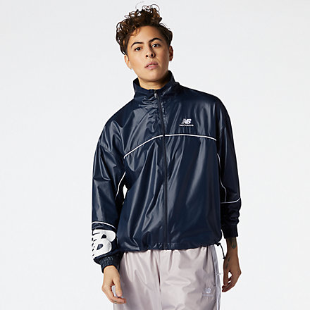 New Balance NB Athletics Windbreaker, WJ11502ECL image number null