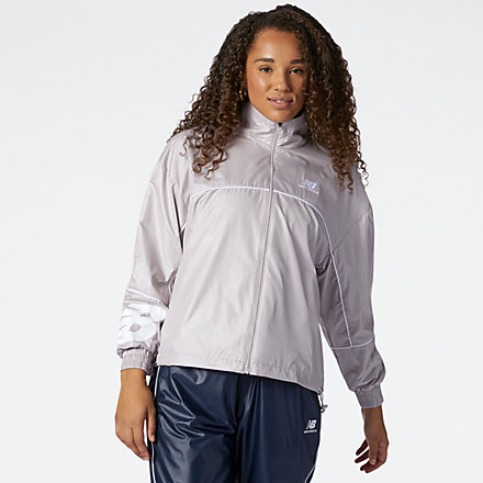 New Balance NB Athletics Windbreaker, WJ11502LWD image number null