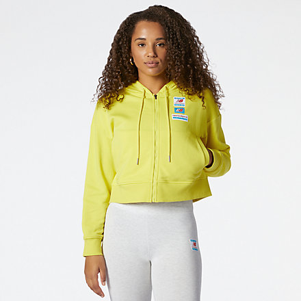 NB NB Essentials Field Day Full Zip Hoodie, WJ11503FTL image number null