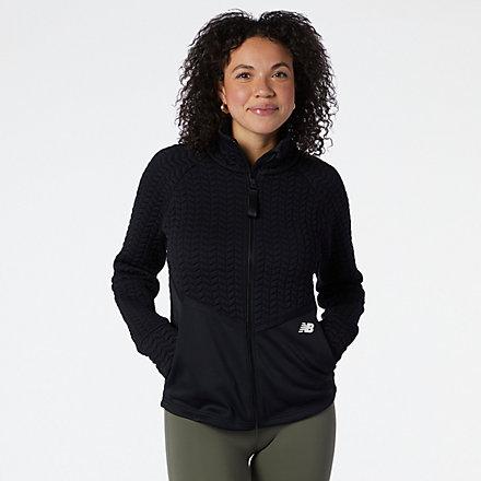 NB NB Heatloft Athletic Jacket, WJ13118BK image number null