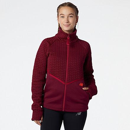 New Balance NB Heatloft Athletic Jacket, WJ13118GNT image number null
