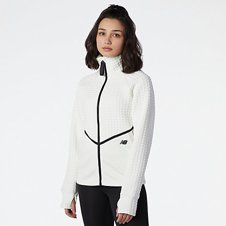 New Balance NB Heatloft Athletic Jacket, WJ13118SST image number null