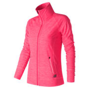NB In Transit Jacket, Alpha Pink Heather