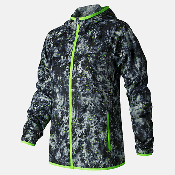 New Balance Windcheater Printed Jacket, WJ71163WDF