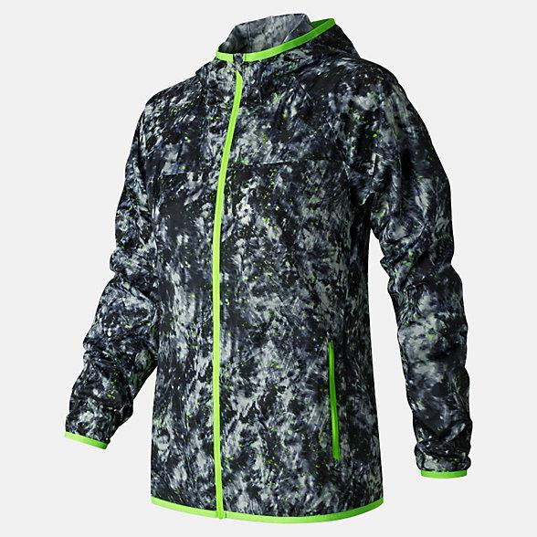 New Balance Windcheater Printed Jacket, WJ71163WDF