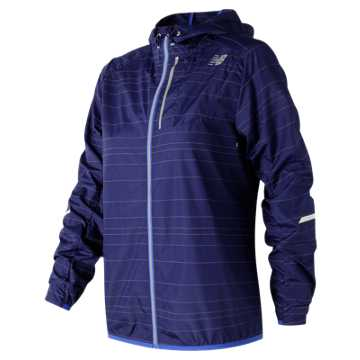 New Balance Reflective Light Packable Jacket, Tempest
