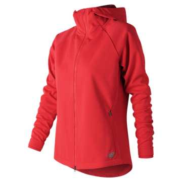 New Balance Winter Protect Jacket, Energy Red