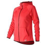 New Balance NB CoreFleece Full Zip, Energy Red