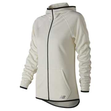 New Balance NB CoreFleece Full Zip, Sea Salt