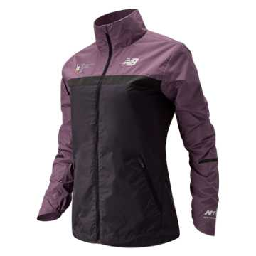 New Balance NYC Marathon Windcheater Jacket, Kite Purple
