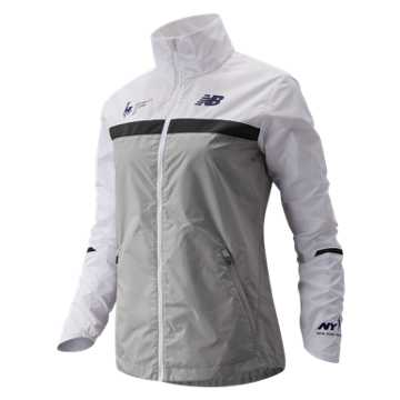 New Balance NYC Marathon Windcheater Jacket, Overcast
