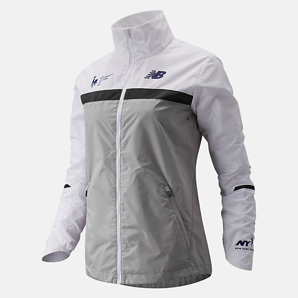 New Balance NYC Marathon Windcheater Jacket, WJ73210MOVC