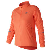 New Balance Speed Run Jacket, Vivid Tangerine