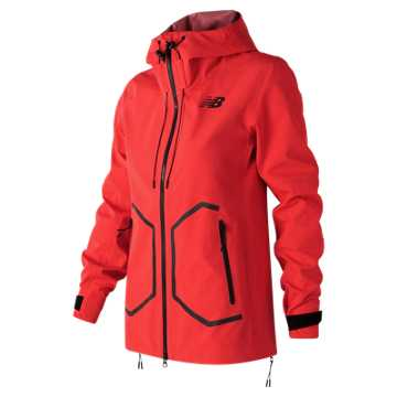 New Balance 247 Luxe 3 Layer Jacket, Energy Red