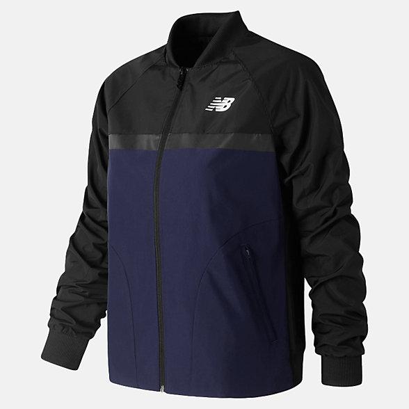 New Balance NB Athletics 78 Jacket, WJ73545BK