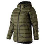 NB 247 Luxe Down Jacket, Military Dark Triumph
