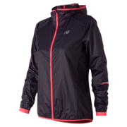New Balance Ultralight Packable Jacket, Elderberry