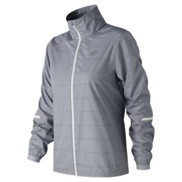 New Balance Reflective Packable Jacket, Arctic Sky