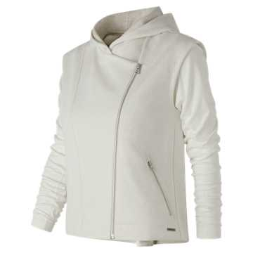 New Balance Evolve Jacket, Sea Salt Heather