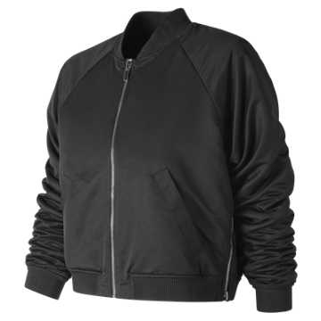 New Balance NB Heat Loft Reversible Bomber, Black
