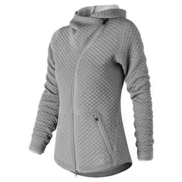 New Balance NB Heat Loft Asym Jacket, Athletic Grey