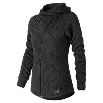 New Balance NB Heat Loft Asym Jacket, Black