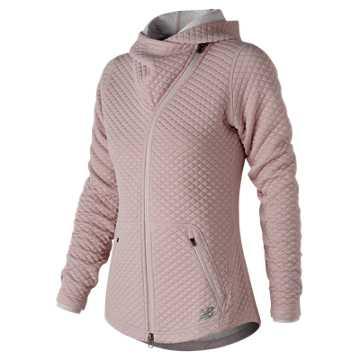New Balance NB Heat Loft Asym Jacket, Conch Shell