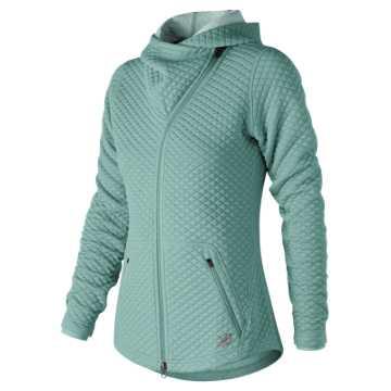 New Balance NB Heat Loft Asym Jacket, Mineral Sage