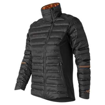 New Balance NYC Marathon RADIANT HEAT Bonded Jacket, Black