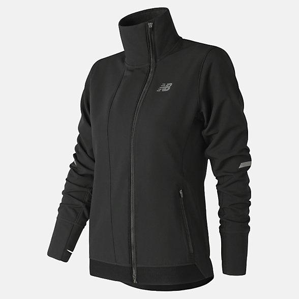 New Balance Winterwatch Jacket, WJ83245BK