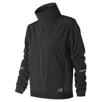 New Balance NB Heat Grid Jacket, Black