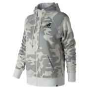NB Essentials Brush Hoodie, White