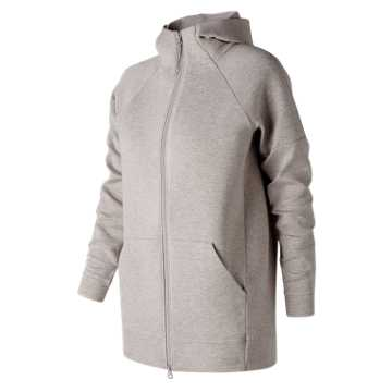 New Balance 247 Luxe Cocoon Hoodie, Flat White