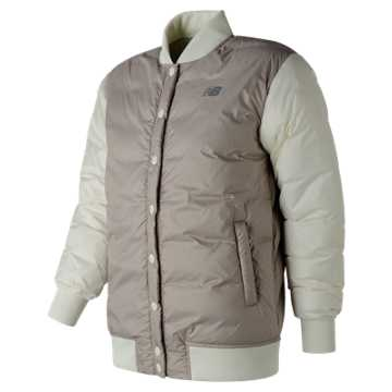 New Balance NB Heat Down 800D Jacket, Flat White