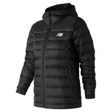 New Balance NB Heat Down 500D Jacket, Black