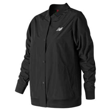 New Balance Coaches Jacket, Black