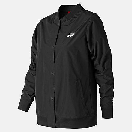 NB Coaches Jacket, WJ83529BK image number null