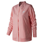 New Balance Coaches Jacket, Himalayan Pink