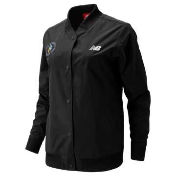 New Balance NYC Marathon Coaches Jacket, Black