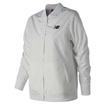 New Balance Coaches Jacket, White
