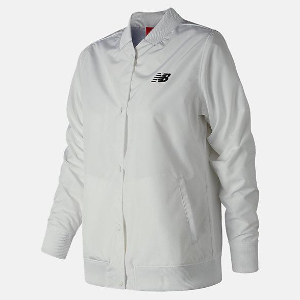 New Balance Manteau pour entraîneurs, WJ83529WT