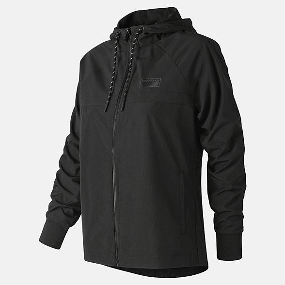 New Balance NB Athletics 78 Jacket, WJ83535BK