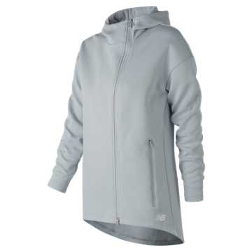 New Balance 247 Sport Full-Zip Hoodie, Light Cyclone