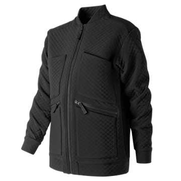 New Balance NB Heatloft Jacket, Black